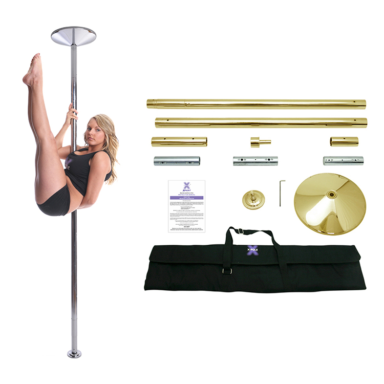 Golden Pole Dance Tube