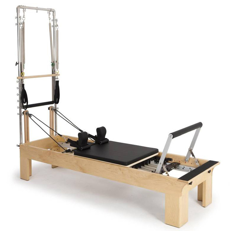 Pilates Reformer with Stainless Steel Half Trapeze