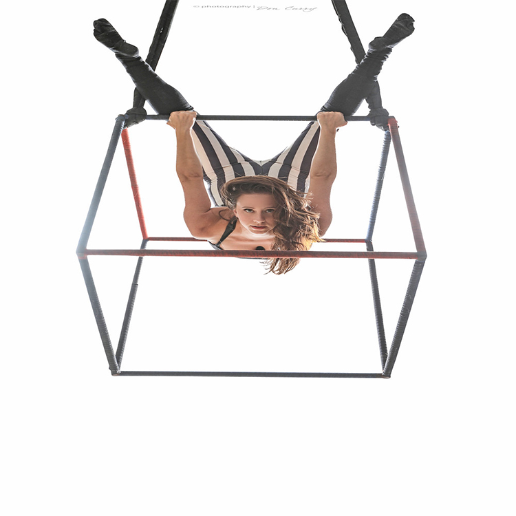 Aerial Cube Equipment for Professional Aerial Performance