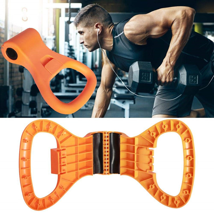 Adjustable Portable Dumbbell Kettlebell Weight Grip