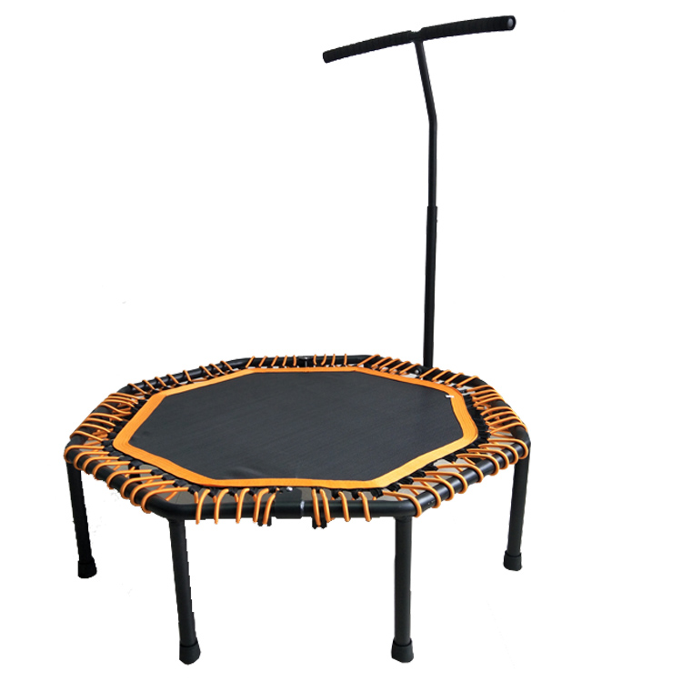 Jumping Trampoline With Handle Bar