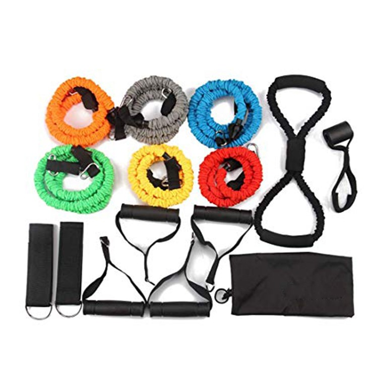 Sleeved Resistance Bands for Strength and Toning